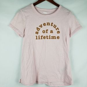 Old Navy Adventure of a Lifetime Tee M